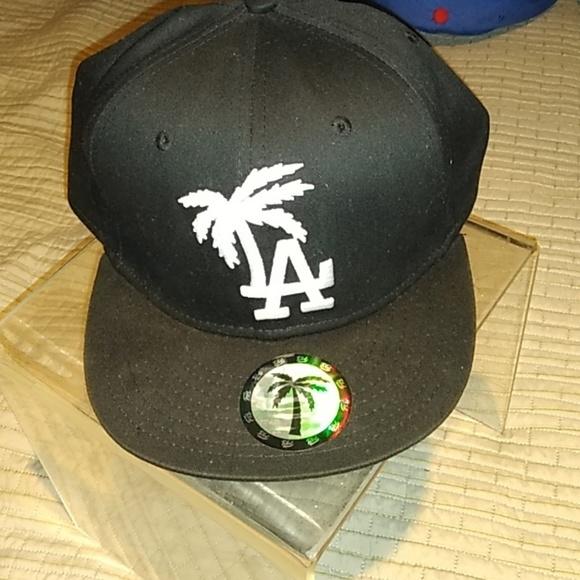 LA Dodger logo with Palm Tree Hat 62a0f3aae9ec